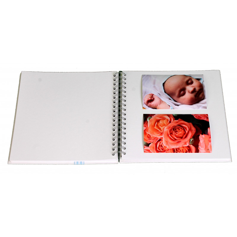 ALBUM PHOTO NAISSANCE TRADITIONNEL BABY VICHY ROSE