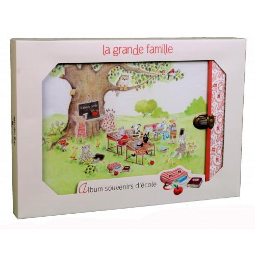 ALBUM-PHOTO-SCOLAIRE-LA GRANDE FAMILLE-PANODIA