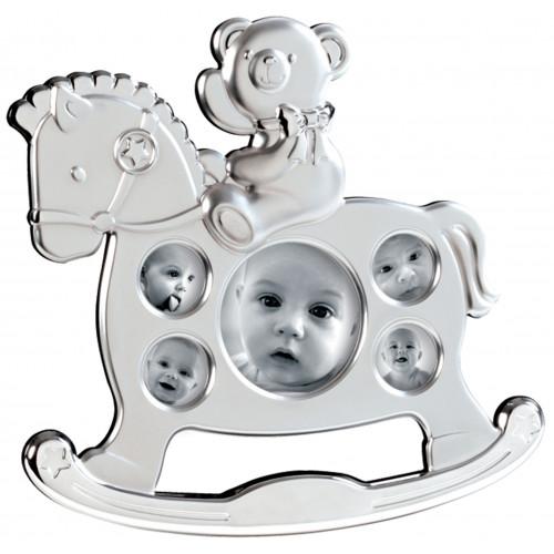 Cadre bébé Mascagni multivues - Cheval à bascule