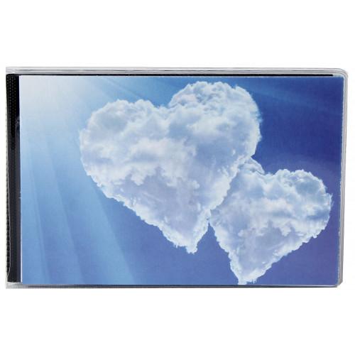 Album photo à pochettes 10x15 Walther Hearts II - Coeur de nuages