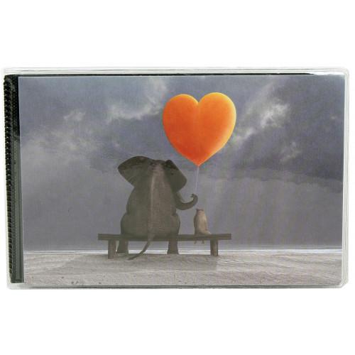 MINI-ALBUM-HEARTS II-40-POCHETTES-10X15-ELEPHANT COEUR