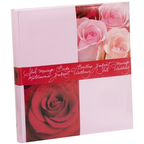 ALBUM PHOTO TRADITIONNEL MARIAGE ROSES 216 PHOTOS 10X15