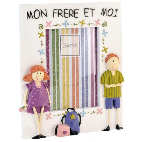 CADRE-PHOTO-ENFANT-9X13-MON-FRERE-ET-MOI-FILLE