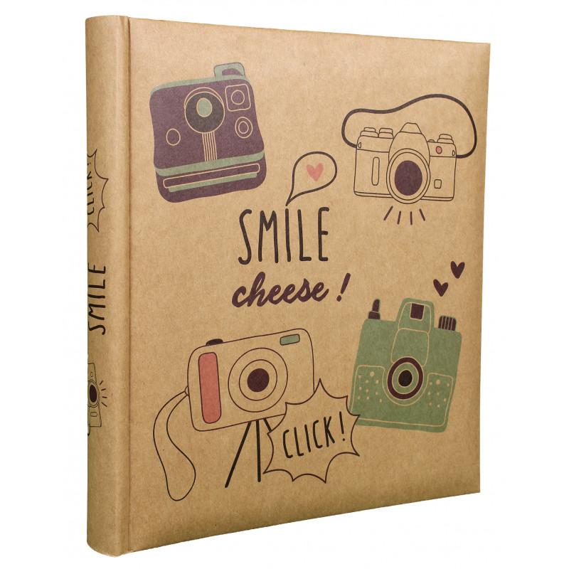 LOT 2 ALBUMS PHOTO SMILE 200 POCHETTES 10X15