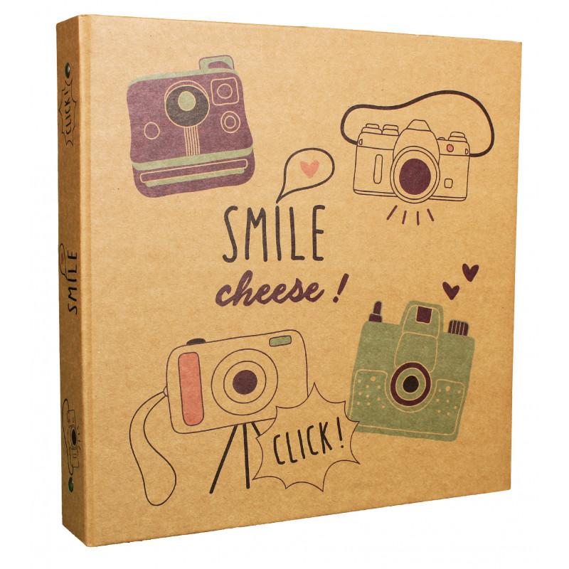 LOT 2 CLASSEURS PHOTO SMILE 400 POCHETTES 10X15