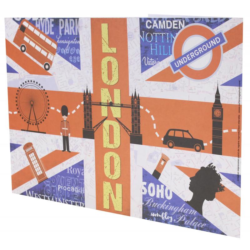 Cartonnage photo scolaire - Groupe 20x30 - London