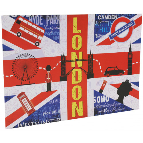 Cartonnage photo scolaire - Groupe 20x30 - London