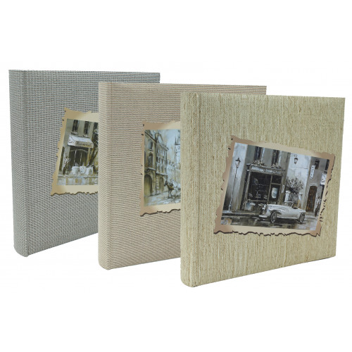 LOT 3 ALBUMS PHOTO TRADITIONNEL RETRO LOOK