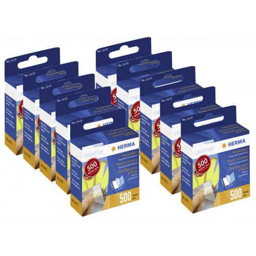 LOT DE 10 BOITES DE 500 PASTILLES DOUBLE-FACES PANODIA