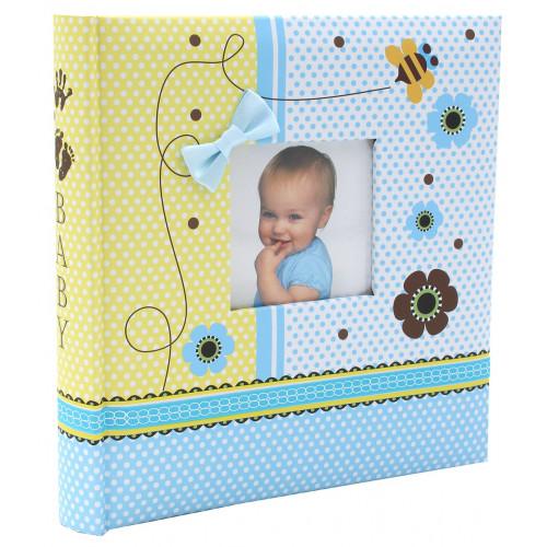 """Album photo à pochettes """"Baby"""" pour 200 photos 10x15"""