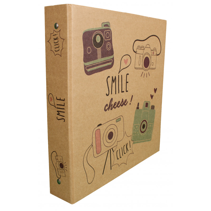 LOT 6 CLASSEURS SMILE 3 ANNEAUX VIDES