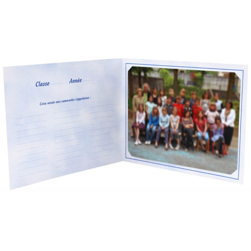 Cartonnage photo scolaire - Groupe 18x24 - Cirque