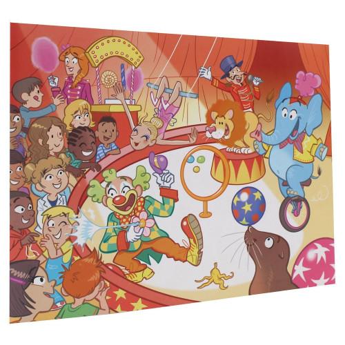 Cartonnage photo scolaire - Groupe 20x30 - Cirque