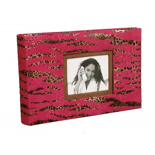MINI ALBUM PHOTO TRADITIONNEL SAFARI ITL 60 PHOTOS LEOPARD