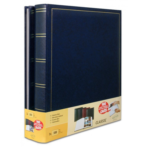 LOT-2-ALBUMS-PHOTO-TRADITIONNEL-JUMBO