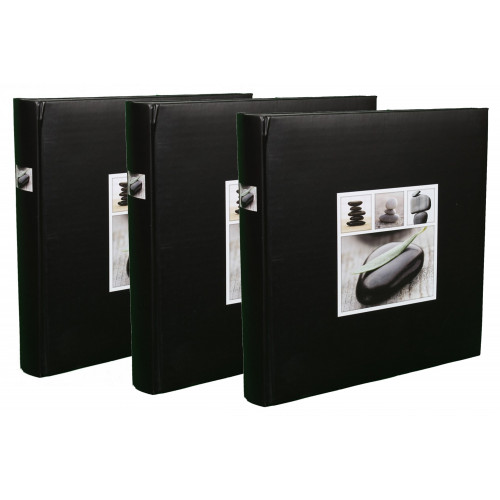 LOT DE 3 ALBUMS PHOTO TRADITIONNEL STONES