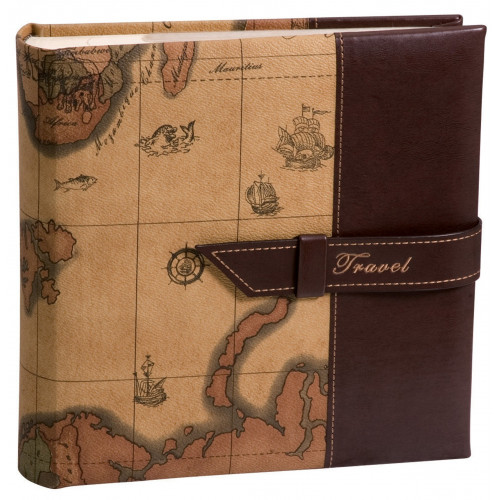 ALBUM-PHOTO-TRAVEL2-200-POCHETTES-11,5x15-BRUN-CLAIR