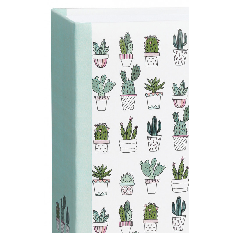 MINI ALBUM PHOTO CACTUS 100 POCHETTES 11,5X15