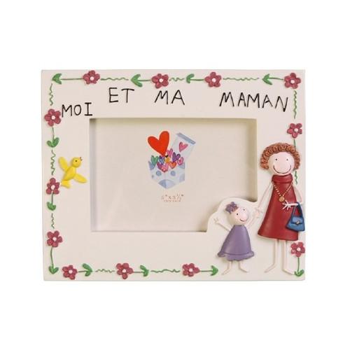 CADRE-PHOTO-ENFANT-9X13-MOI ET MA MAMAN-FILLE-HORIZONTAL
