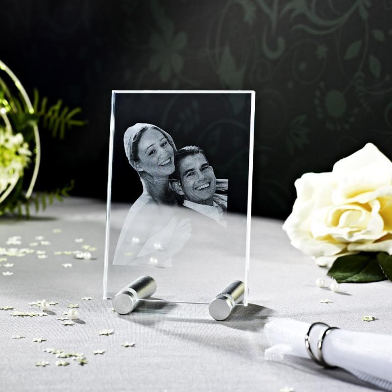 Petit Verre Plat 2D M en verre Viamant personnalisable