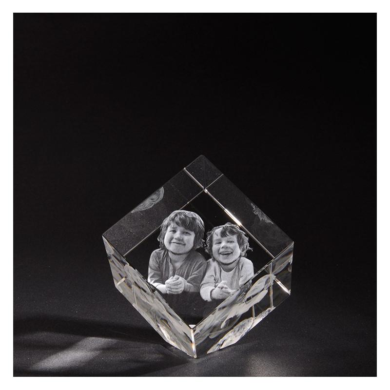 3D PRECIOUS M en verre Viamant personnalisable