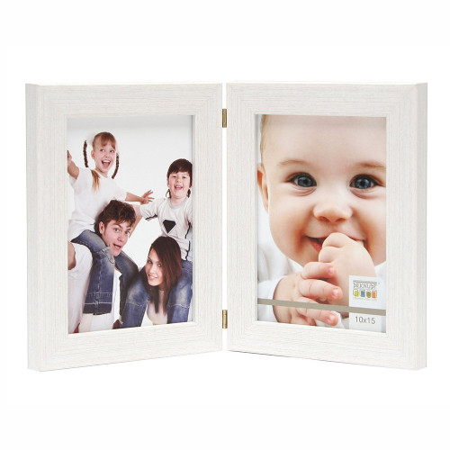 CADRE PHOTO DUO DEKNUDT S41VF1 H2V VERTICAL BLANC