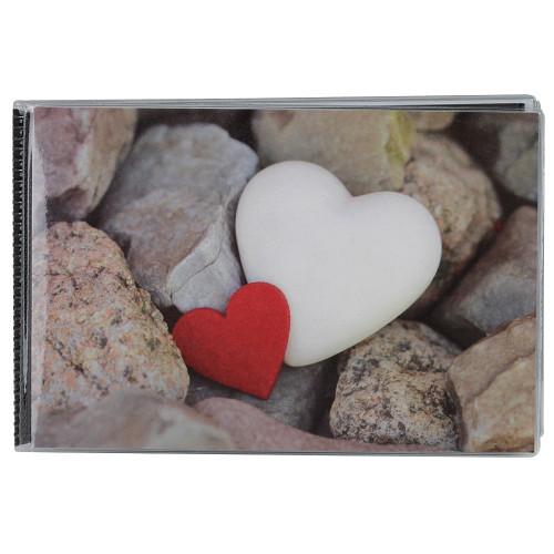 Album photo à pochettes 10x15 Walther Hearts
