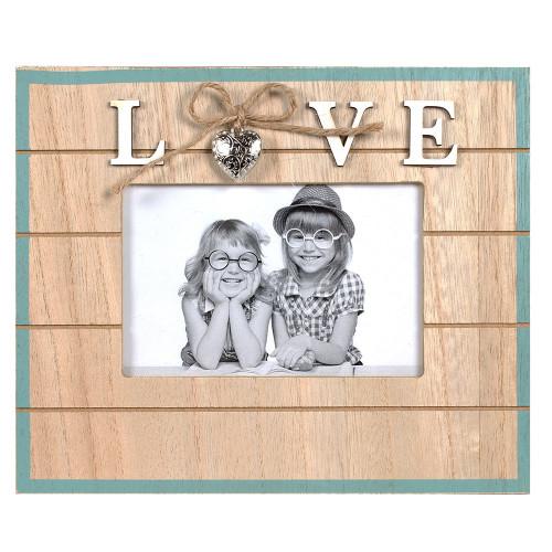"""CADRE PHOTO ENFANT """"LOVE"""" 10x15"""