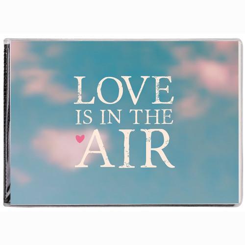 "MINI ALBUM PHOTO A POCHETTES ""LOVE"" POUR 24 PHOTOS 11,5x15"