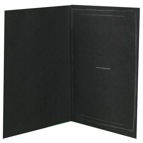 Cartonnage photo noir - Black Fusain