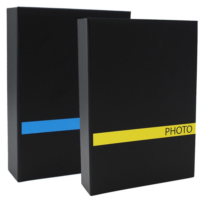 LOT 2 ALBUMS PHOTO SENSATION BLJ 200 POCHETTES 10X15