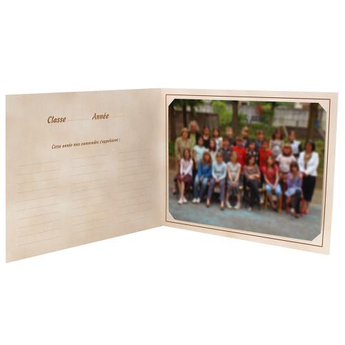Cartonnage photo scolaire - Groupe 18x24 - La chasse au trésor