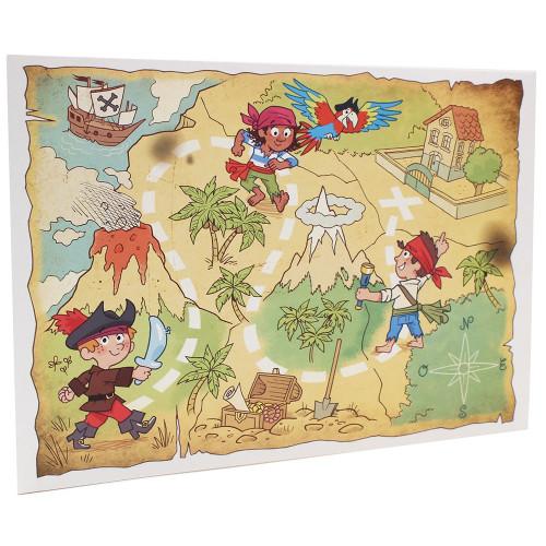 Cartonnage photo scolaire - Groupe 20x30 - La chasse au trésor