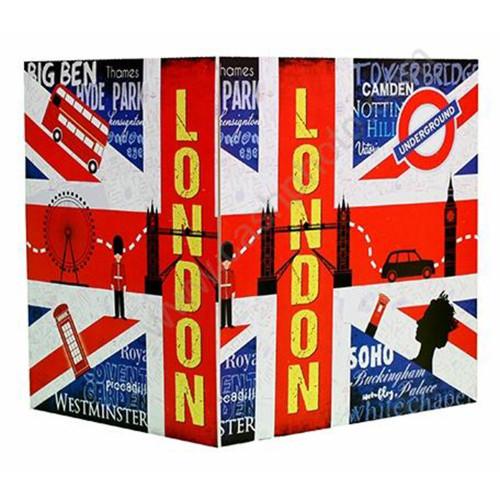 Cartonnage photo triptyque 13x18+18x24+pochette - London
