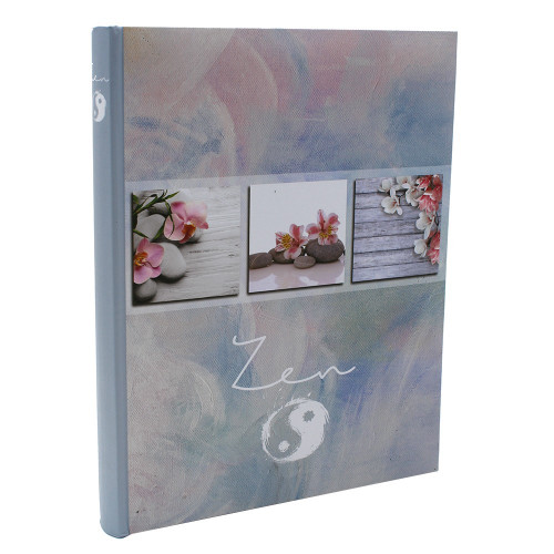 Album photo autocollant Soft Zen pour 90 photos 10x15