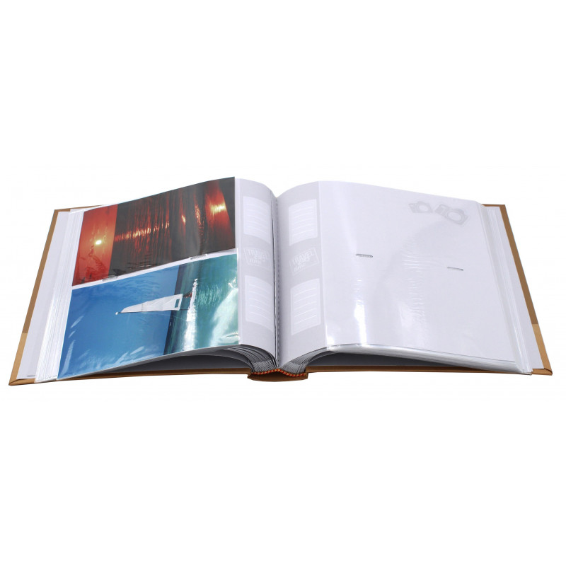 LOT 2 ALBUMS PHOTO TRAVEL TIME II 200 POCHETTES 10x15