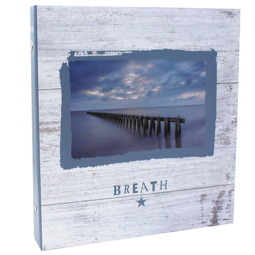 Classeur photo à pochettes Breath pour 400 photos 11x15