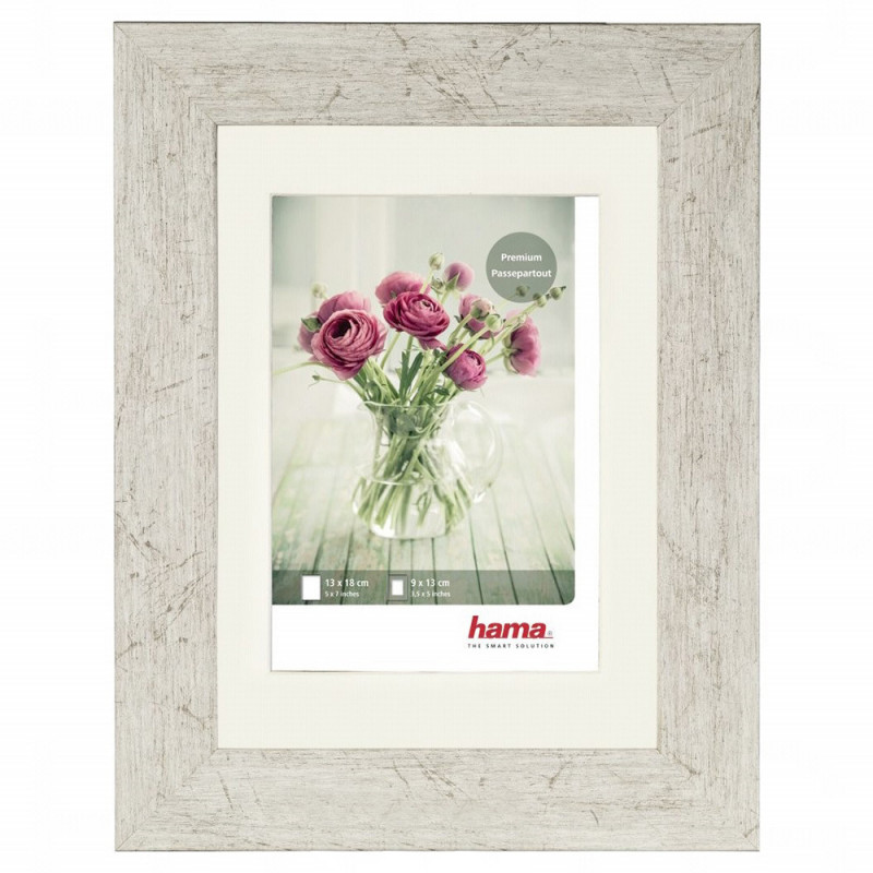 CADRE PHOTO CHALET 15x20 HAMA TAUPE