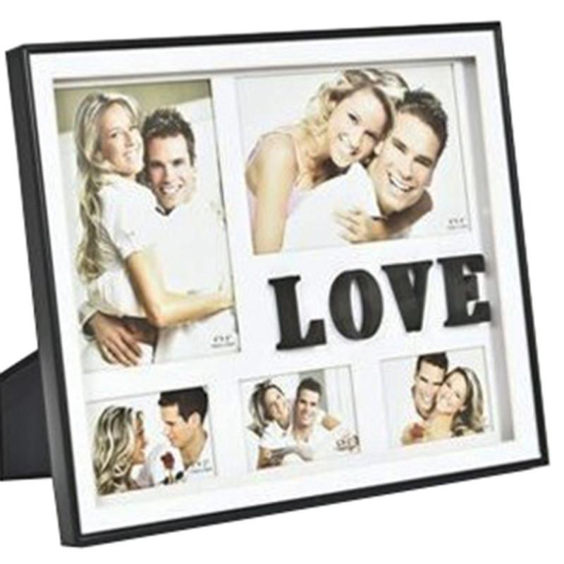 CADRE MULTIVUES LOVE 5 PHOTOS
