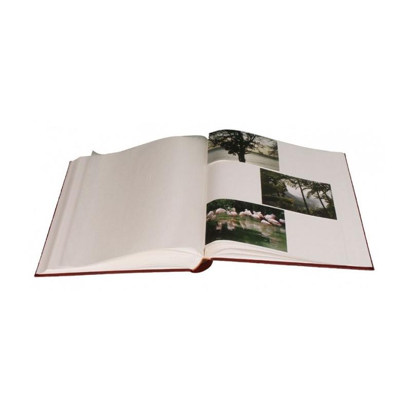 LOT-2-ALBUMS-PHOTO-TRADITIONNEL-JUMBO-BORDEAUX