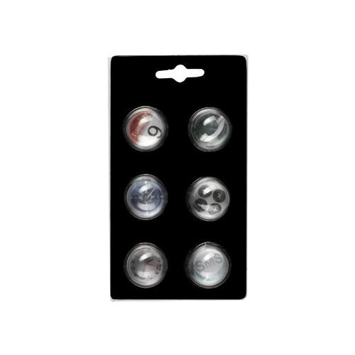 6 aimants Brio - Symboles