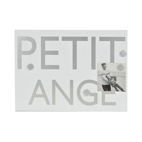 Mémo magnétique CPI 35.5x25 - Petit Ange Blanc