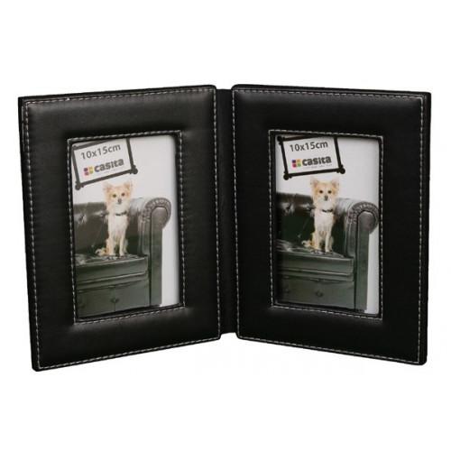 Cadre CPC Duo imitation cuir - Noir