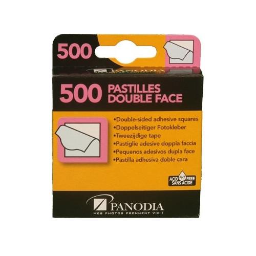500 PASTILLES AUTOCOLLANTES DOUBLE-FACES PANODIA