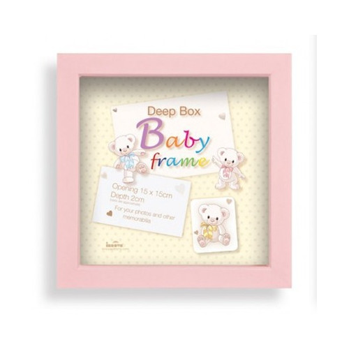 Box photo enfant Baby Box 15X15 - Fille