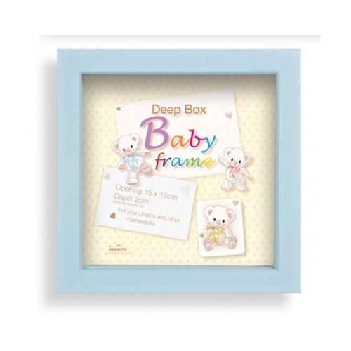 Box photo enfant Baby Box 15X15 - Garçon