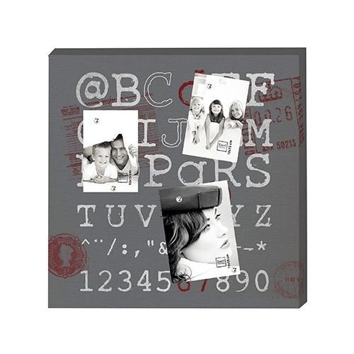 Toile Pêle-mêle photo magnétique - 50x50 - @BCd