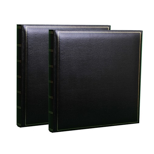 LOT-2-ALBUMS-PHOTO-TRADITIONNEL-JUMBO-SUPER-XL-NOIR
