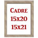 Cadre 15x20 / 15x21 cm