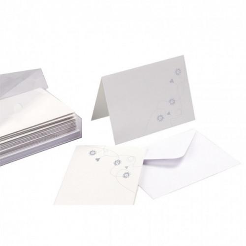 Cartes et enveloppes Laika
